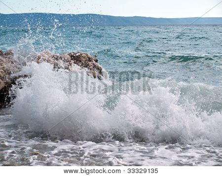 Adriatic sea gone wild