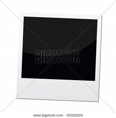 Polaroid Photo Frame Or Border, Vector