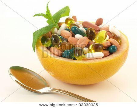 Natural Vitamins In Fruit