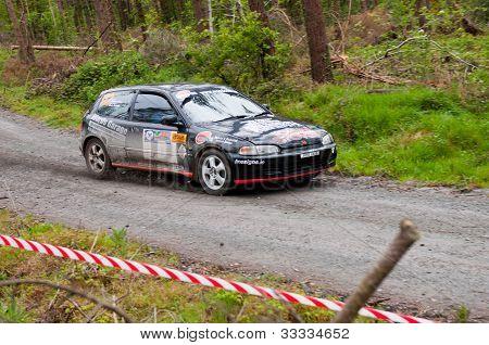 J. Lowery Driving Honda Civic