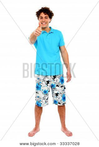 Thumbs-up From A Casual Guy