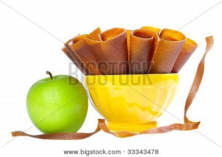 Apple Fruit Leather