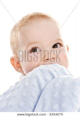 Brown Eyed Baby Toddler Boy