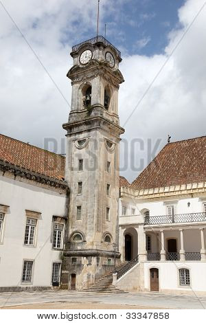 Clock Tower Coimbra Portugal