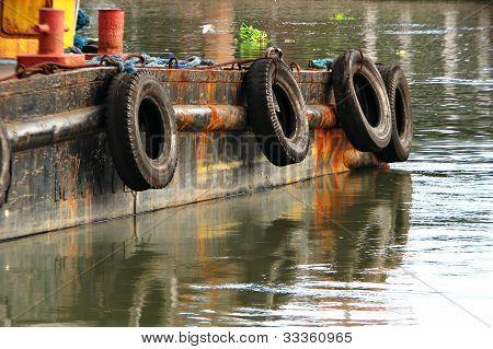 Barge Boat Detail