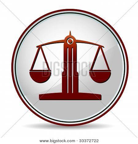 Gleichgewicht-Symbol