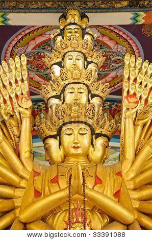 Thousand-hand Guan Yin Statue