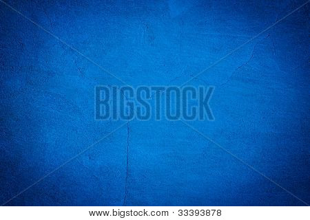 Blue Concrete Texture Background
