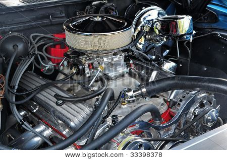 High Powered 350 Engine