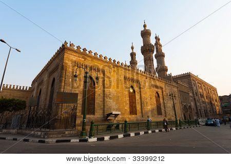 Al Azhar Madrasa Mosque Cairo H
