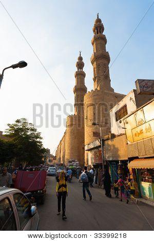 Angled Bab Zuweila Old Cairo Gate