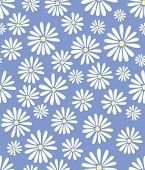picture of dory  - A seamless tile with a 60s retro flower design in tribute to Doris Day - JPG