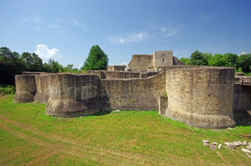 picture of suceava  - Ancient fortress  - JPG