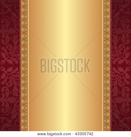 Maroon And Gold Background