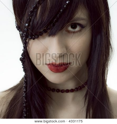 Girl With Beads