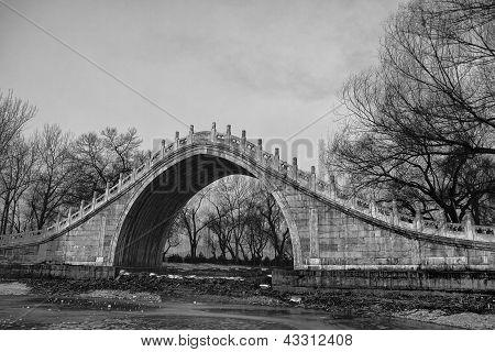 Jade Belt Bridge In Summer Palace, Beijing