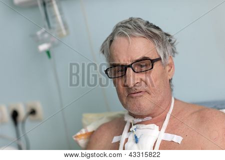 Person After Surgery