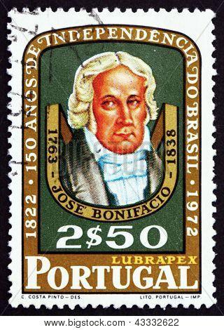Postage Stamp Portugal 1972 Jose Bonifacio De Andrada