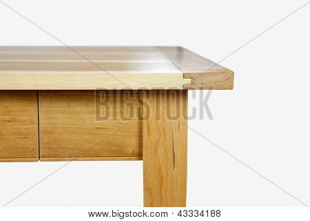 Edge of a table