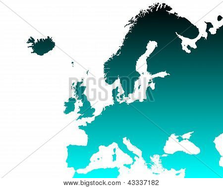 Detailed Map Of Europe