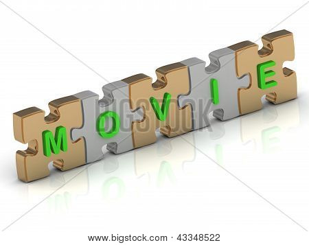 Movie Word Of Gold Puzzle