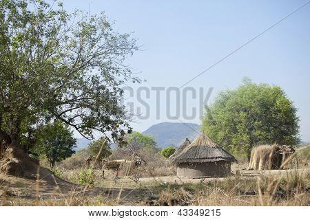 remote village in south sudan