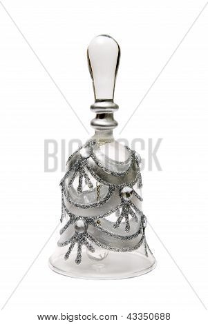 Glass Bell For Holiday Greetings