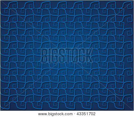 Blue Wavelets Background