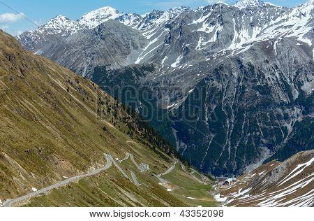 Summer Stelvio Pass (italy)