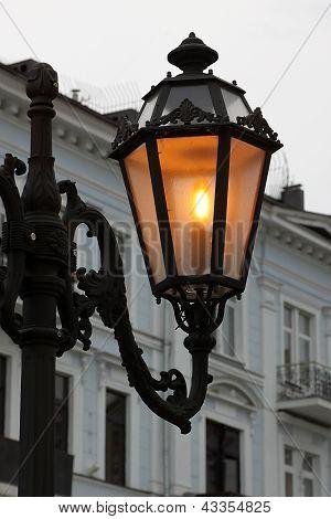 Street Lamp In Odessa