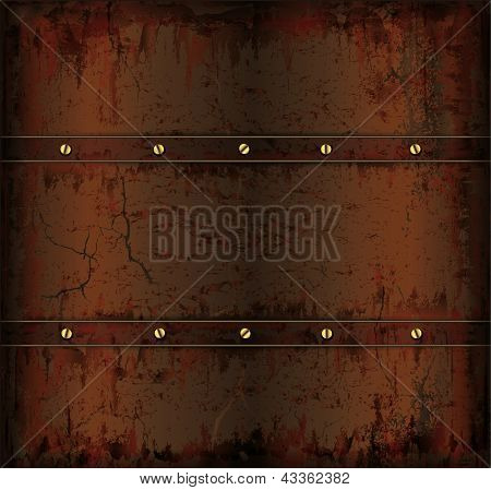 background metal rusty cuprum texture