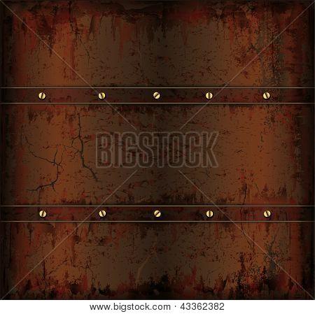 background metal rusty cuprum texture