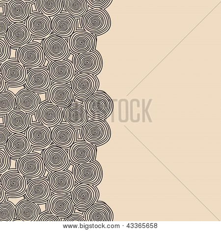 Spiral border
