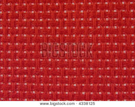 Background Textile Holey In Red