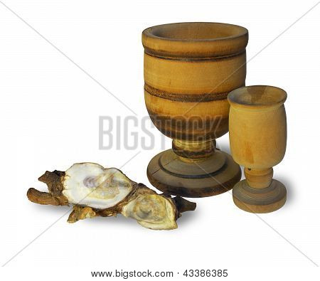 Wooden Glasses Shells