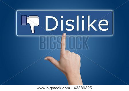 Pressing Dislike Button