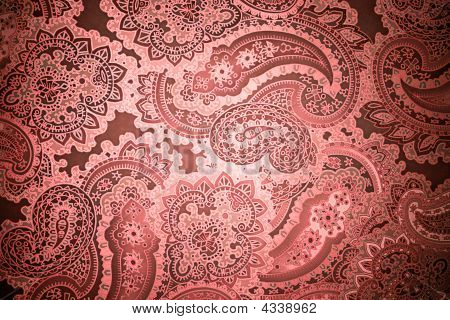Paisley Grunge Background