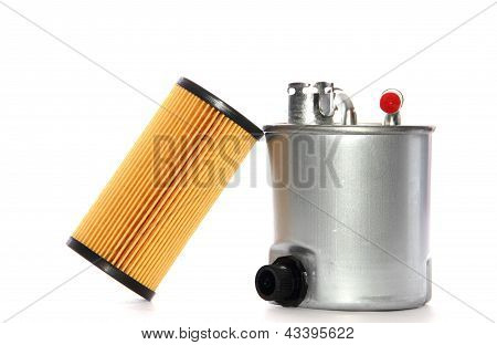 Fuel Filter And Oil Filter Cartridge