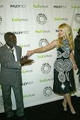 BEVERLY HILLS - MARCH 14: Garrett Morris and Beth Behrs arrive at the 2013 Paleyfest