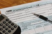 IRS Federal Income Tax Form