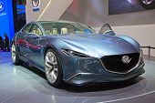 GENEVA - MARCH 8: The Mazda concept preview on the 81st International Motor Show Palexpo-Geneva on M