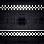 image of orifice  - Structured metallic perforated for race sheet gray template - JPG