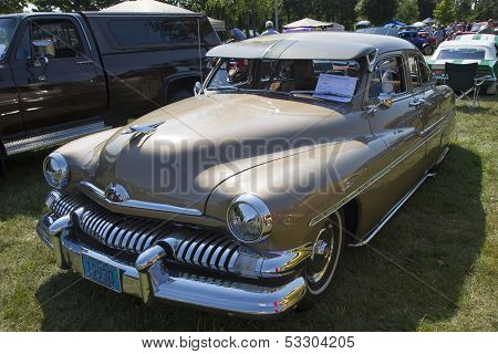 1951 Mercury Coupe Side View