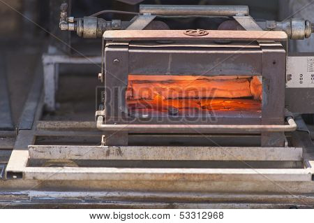 Blast Furnace From The Field
