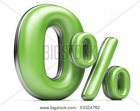 Green Zero Percent.