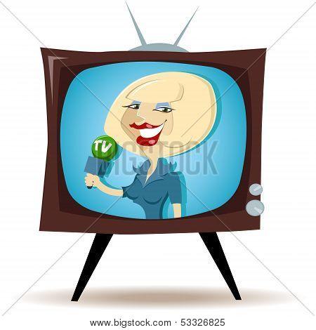 Correspondent On Tv