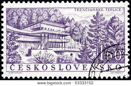 Trencianske Teplice Stamp