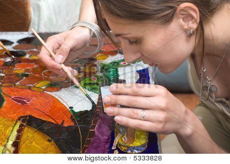 Vitrage Painting