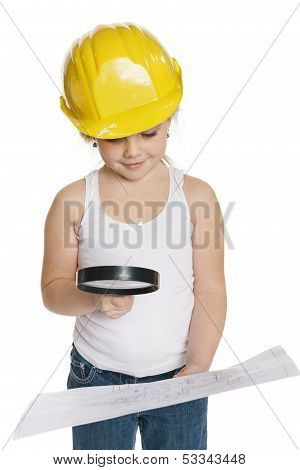 Little girl constructor