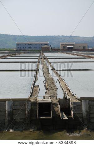 Salt Flats Sluice Gate